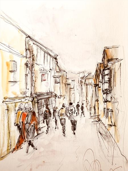 Sherborne High Street  by Wendy Thompson