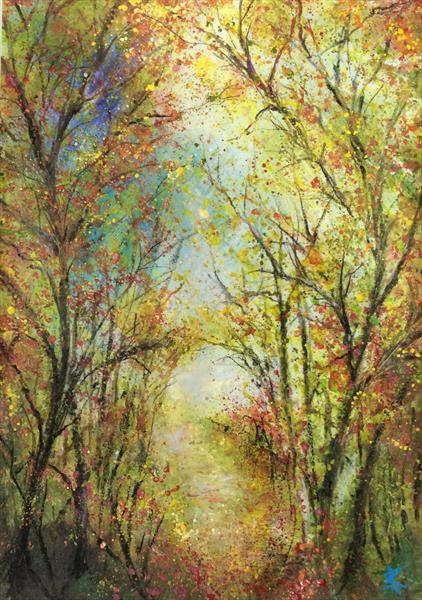 Autumn Fairy Glen by Janice  Rogers