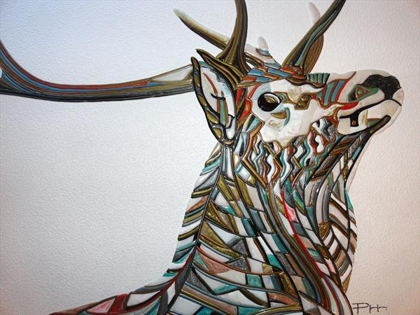 Abstract Deer (Sculptural)