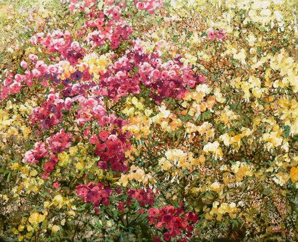 Rhododendrons & Azaleas (on display at Art Gallery, Tetbury) by Mariusz Kaldowski
