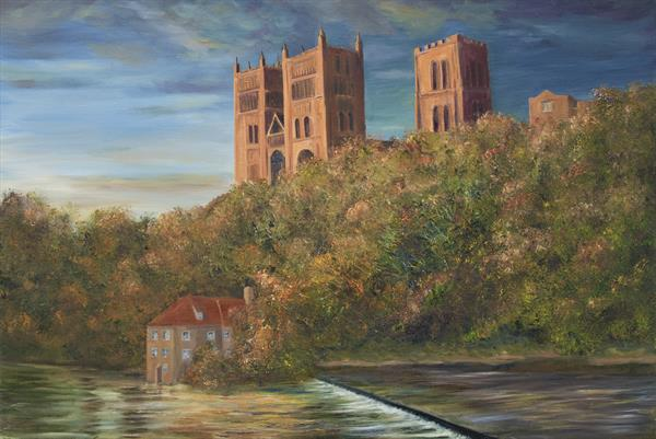 Durham Cathedral - Autumn Approaches by Robert Permain