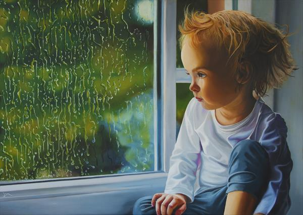 Bedhead on a rainy day by James Carpenter