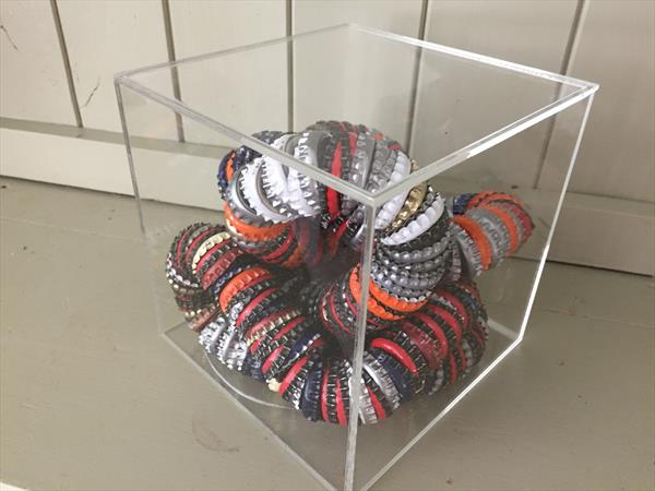 Bottle top coil No.1 by Tanya Heal