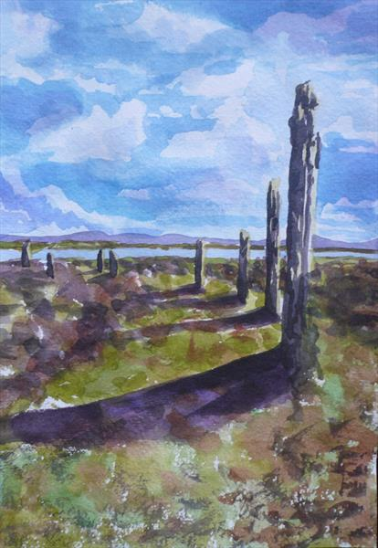 The Ring of Brodgar (Stone circle) by Wendy McIlroy