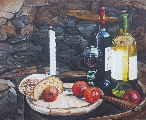 "Stillife "" An evening"" by Veronika Primas"