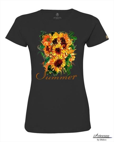Summer sunflower top by Yary Dluhos