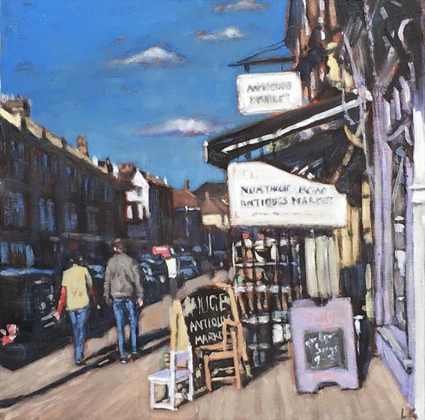 Northcote Antiques III by Louise Gillard