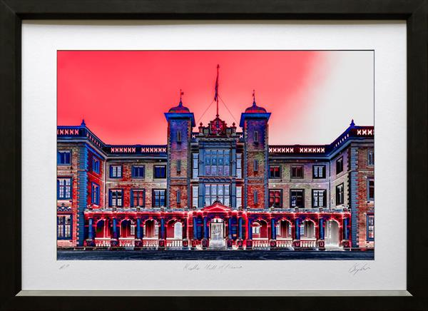 Kneller Hall Aflame by Peter Brydon