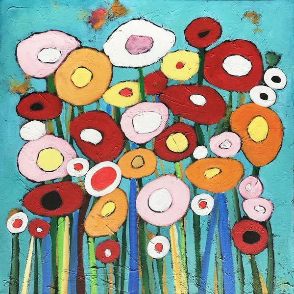 Bright Flowers by Eileen Kiely