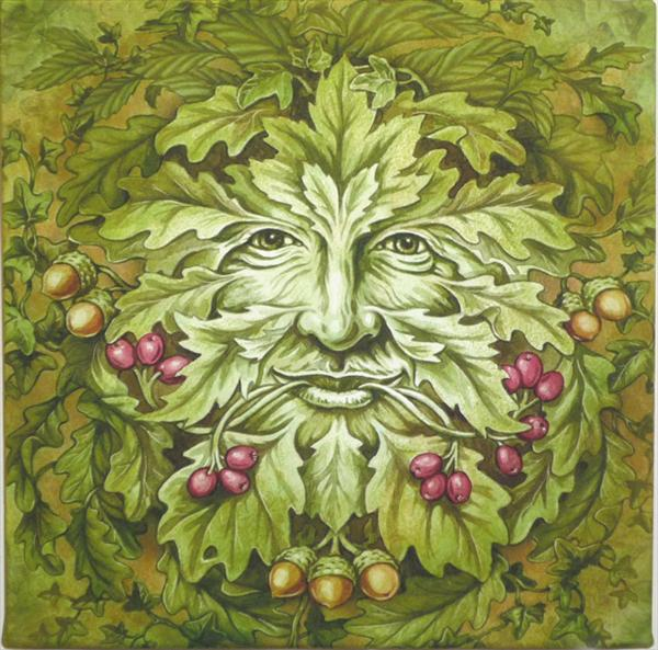 Green Man by Ian R Ward