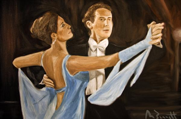 Ballroom Dance by Mark Bennett