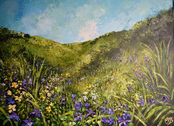 The Valley in Spring by Colette Baumback