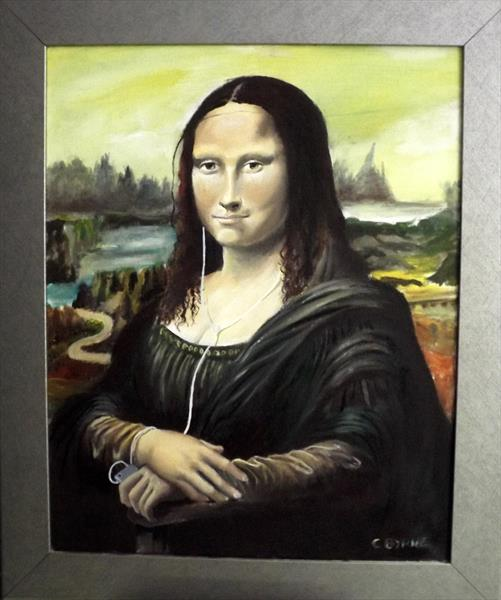 Wired Mona lisa