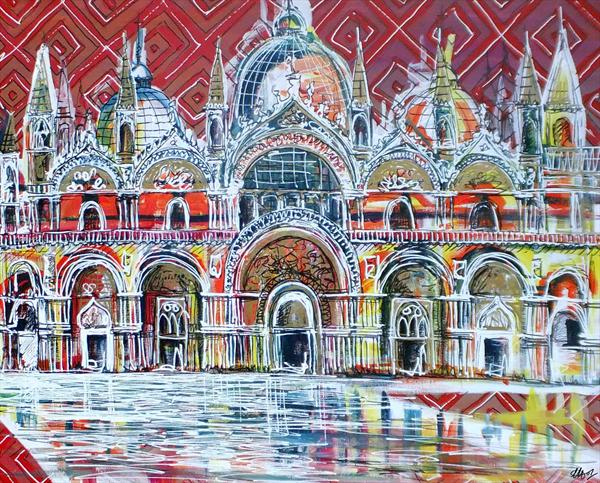 St Mark's Basilica by Laura Hol