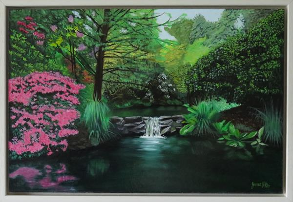 Clyne Waterfall by James Potter