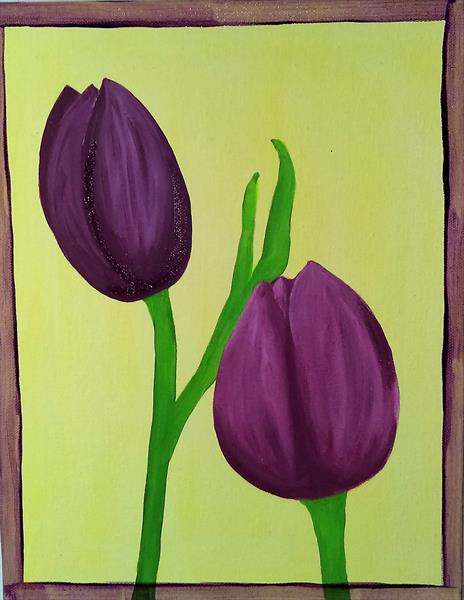 Tulip 3 by Louise Welford