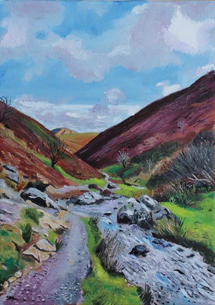 Carding Mill Valley by Stephen Michael Law