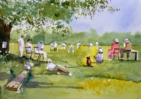 The village match by Susan Shaw