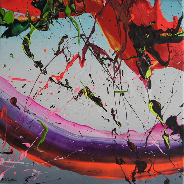 Celebrating Life III (S059) (30 x 30 cm) (12 x 12 inches) by Ansgar Dressler