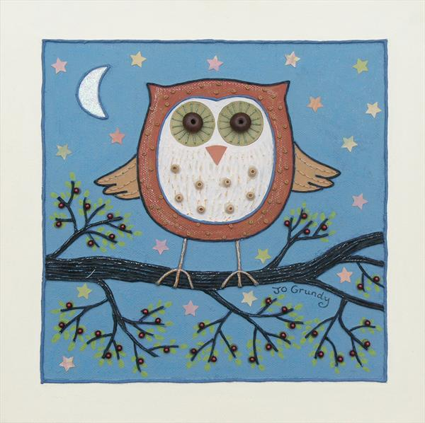 *SALE* Night Owl by Josephine Grundy