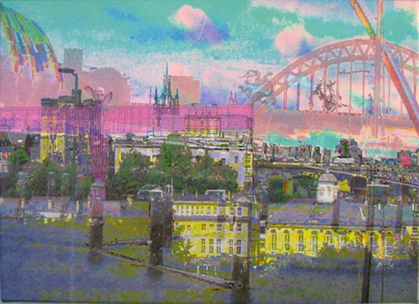 North East in the Pink by Linda Calverley