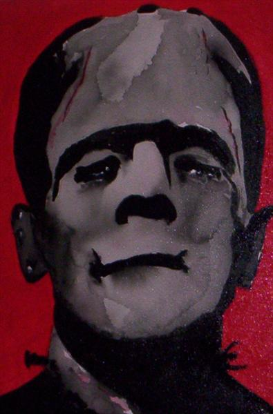 The Monster,,,Frankenstein by Michael Clay