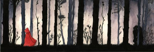 Through the Forest by Lorna Robertson