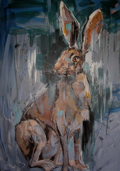 Brown Hare by Dawn Ogden-white
