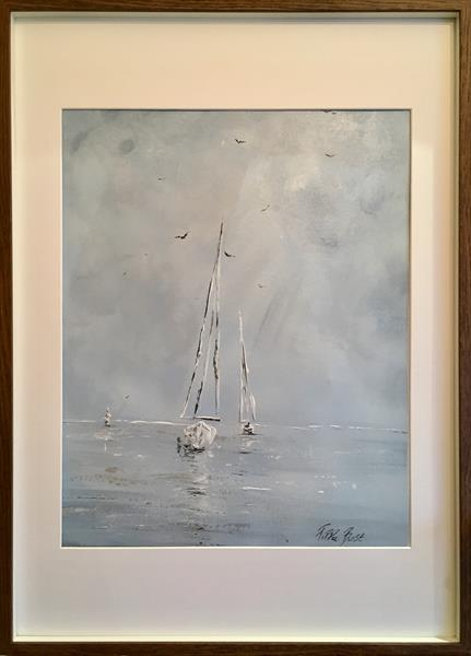 Sail FRAMED  by Pippa Buist
