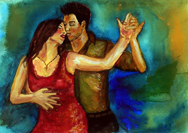 Tango Dancers by Stephanie Garland