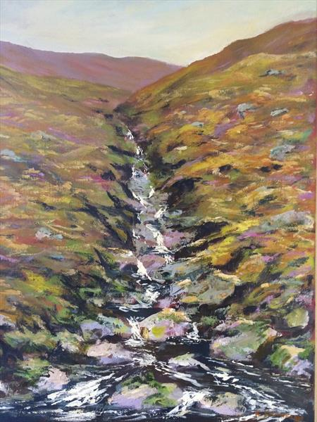 Wicklow mountain stream I by Kevin Franklyn