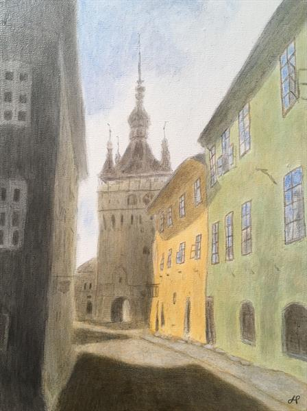 Sighisoara by John Prince