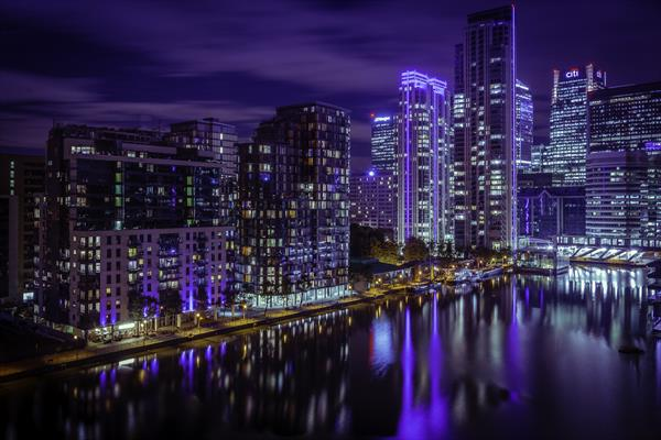 London Docklands by Brian Evans
