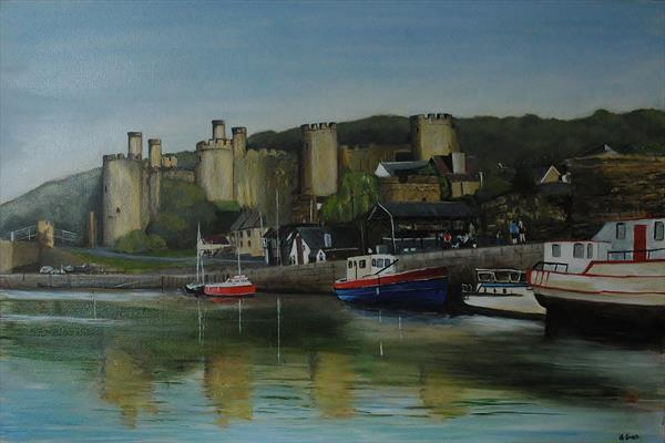 Conwy Quay by Andrew Snee