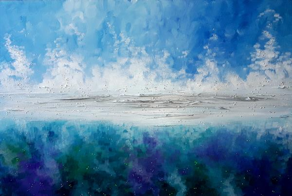 Sea Foam by Angie Livingstone