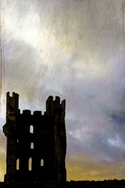 Helmsley Castle by Ron Whitby