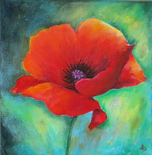 Perfect Poppy by Maureen Greenwood