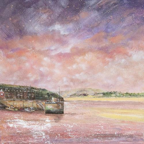 Padstow Harbour by Diane Griffiths