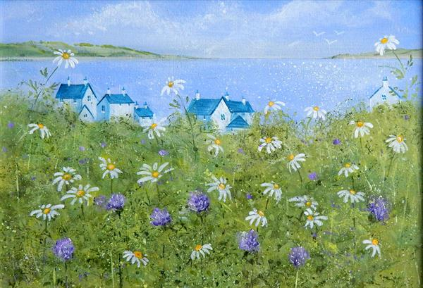 Coastal Flowers by Denise Coble