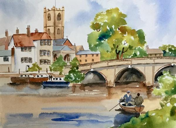 HENLEY ON THAMES  by Susan Shaw