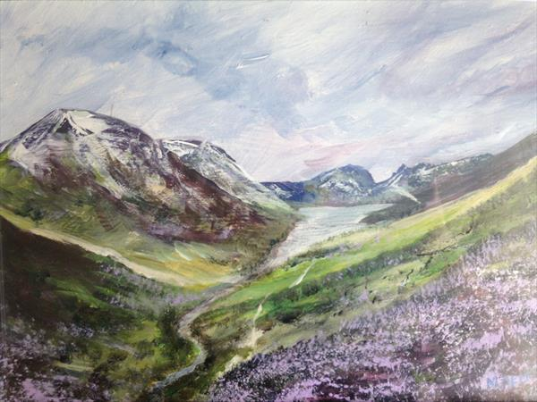 Lake District Heather by Mike Kent