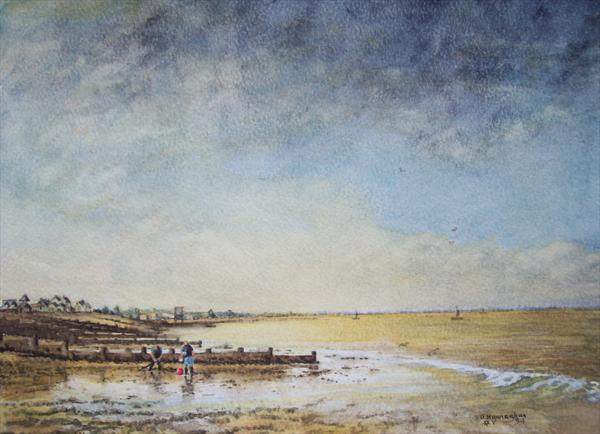 Whitstable, Two Men Digging