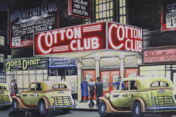 Cotton Club by John Penney
