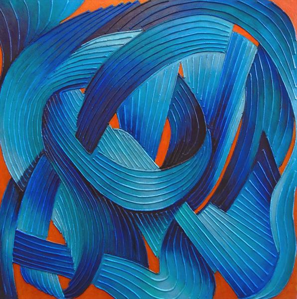RHYTHMIC BLUE by Stephen Conroy