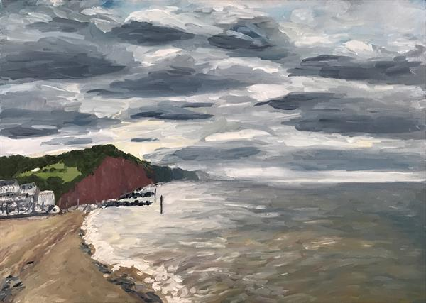 Sidmouth Harbour by Kate  Solohub