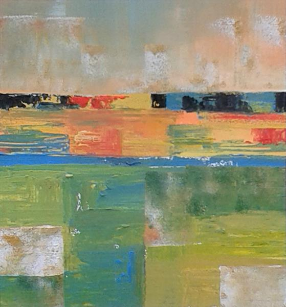 Abstract Landscape IV by Jan Rippingham