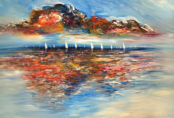 Seascape Sailing Impressions XL 5 by Peter Nottrott