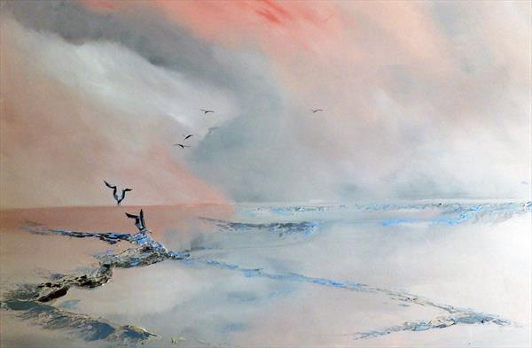 Dance of the Terns 2 by Elizabeth Williams