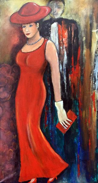 The Red Dress by Suzette Datema