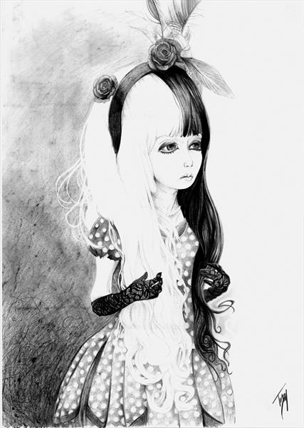 Harajuku Girl II by Troy Slater